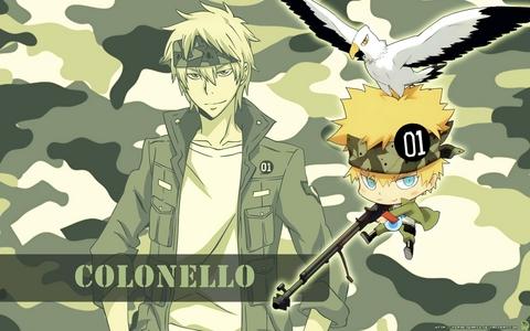 Colonello from Reborn!