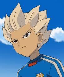 Gouenji Shuuya from Inazuma Eleven..
