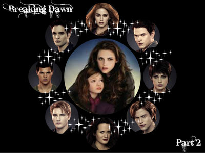 here are all of the Cullens<3