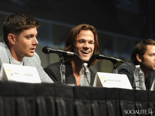 Jared and Jensen at a meeting