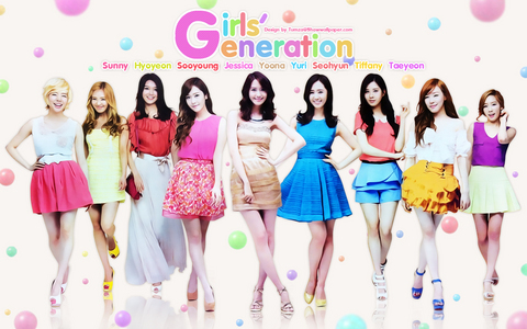 10. Gee 9. Oh! 8. Mr. Taxi 7. Dancing クイーン 6. Genie 5. Visual Dreams 4. Talk Talk 3. 花 Power 2. I Got A Boy 1. Galaxy Supernova