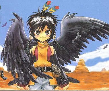 Does Cooro from +Anima count? It hasn't been made into an عملی حکمت unfortunately...Cooro is 11 years old at the start of the manga, and is one of the main characters.