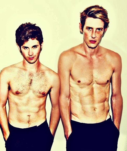 Gabe and Connor Paolo