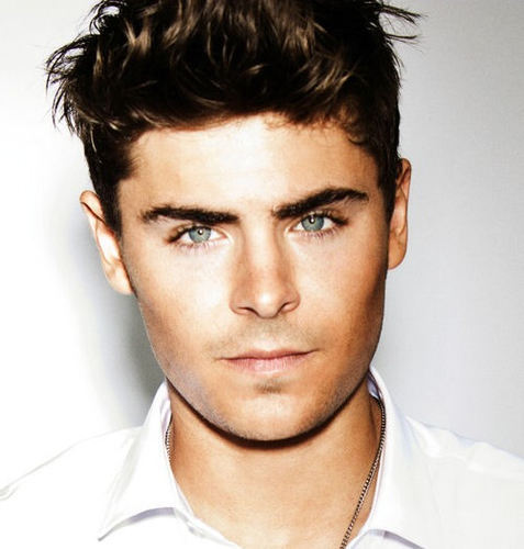 Zac's gorgeous face
