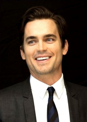 White collar press conference (love that smile!) <33333