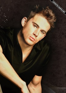 Channing Tatum with spiky hair