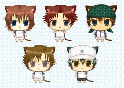 Prince of Tennis...Actually,they even made some chibi episodes in the series...~
