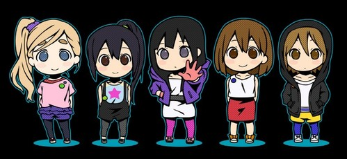 Well, almost ANY character can look cute as a chibi. :3 The girls from K-ON! suit the look very well though.