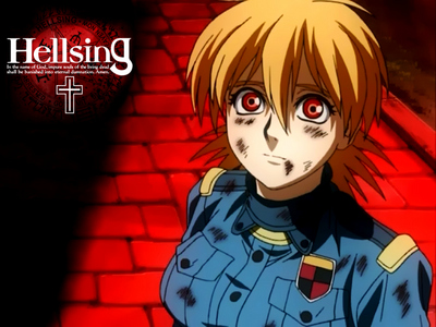 YOSH, no one گیا کیا پوسٹ her yet! Seras Victoria from Hellsing!! ~(*o*)~