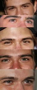 My Baby's beautiful brown eyes <333333333333