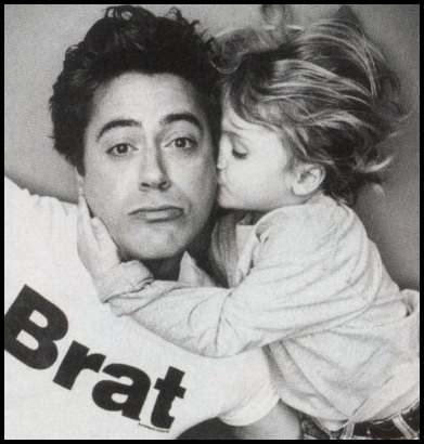 RDJ being cute :)