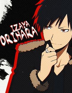 Izaya Orihara from Durarara <3