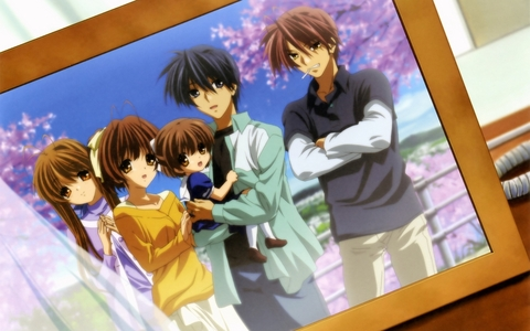 -Clannad [picture] -Angel Beats! -Black Cat -Fruits Basket -Sola -Naruto -Death Note (Death Note may be too dark and complex for a twelve-year-old, depending on her, herself.)  Hope I was of some help. :)
