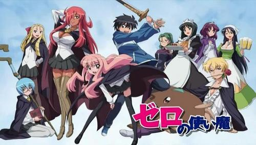 Zero no Tsukaima. I don't know anyone on fanpop who hates it, but almost every review on MyAnimelist about this anime was negative, so I guess many people don't like it.