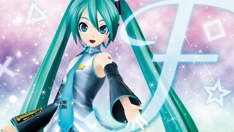 Hatsune Miku her hair style is special . And its also beatiuful.
