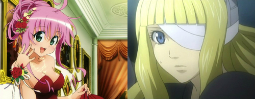 Lala from (To Love-Ru) and Lala from (D.Gray Man)
