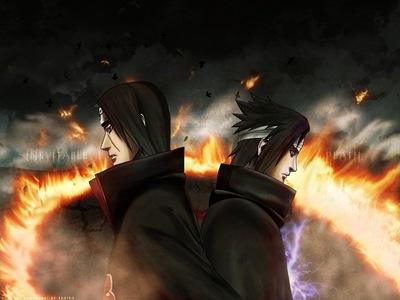 Itachi Uchiha & Sasuke Uchiha (Naruto Shippuden)