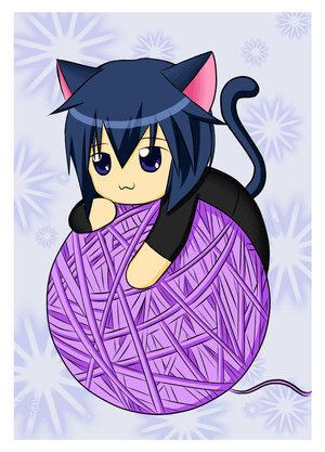 Chibi Ikuto is too cute ^.^
