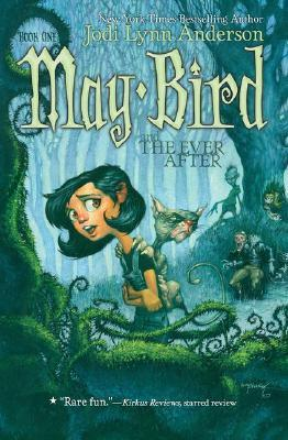 "ok my book is may bird and the everafter ""Mrs. Bird ran her free hand through her wavy brown hair as she brought the the car to a stop."""