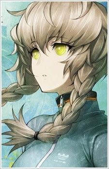 Suzuha Amane's artwork done द्वारा huke portrays her hair a light silvery brown; in the ऐनीमे the darkened the color of it, but ehh.