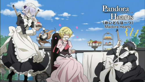 Break; Oz and Gilbert from Pandora Hearts, they are too funny! XD
