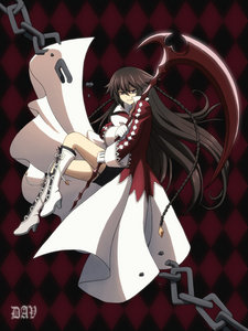 Alice Baskerville ^ ^ (from Pandora Hearts) I've seen a lot of powerful girls, but I think she's the strongest (also for the character) :P