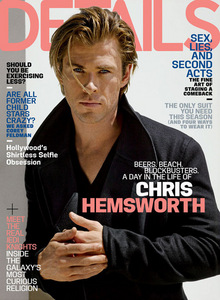Chris on the cover of Details magazine<3