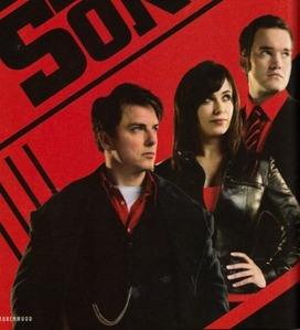 My 3 favourites - John Barrowman,Eve Myles,Gareth David-Lloyd!