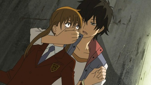Shizuku and Haru from my little monster