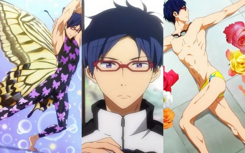 I just had to. Rei from Free!