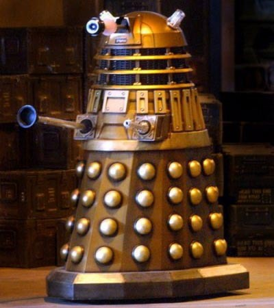 A DALEK. DALEKS ARE SUPREME TO THAT OF THE REAL UNIVERSE.