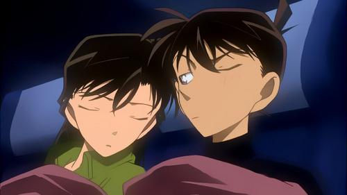 Ran and Shinichi from Meitantei Conan