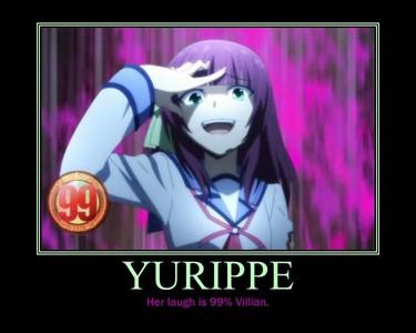 """Yuri Nakamura's """"villain"""" laugh ='')) (Though it's not creepy for me...)"""