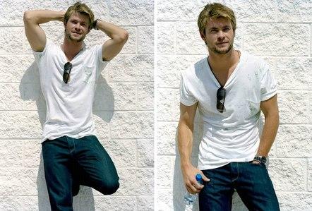 my Aussie hottie,Chris<3