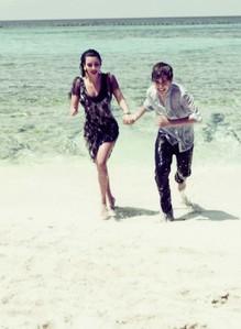 Justin Bieber and Kim Kardashian<3
