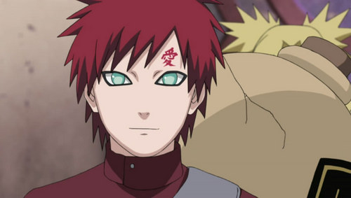 Gaara, from Naruto. :3 Such an awesome person...