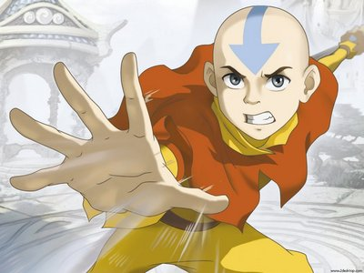 Aang from Avatar:The Legend of Aang, so I could save the world from evil. xD