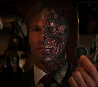 I don't know, maybe Two-Face from batman if I have time.