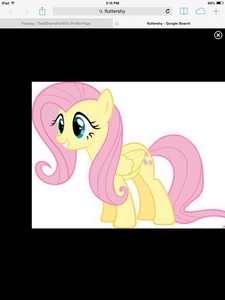 I'm being Fluttershy!