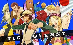 "Watch ""Tiger & Bunny"" It had a good example of mistaken identity"