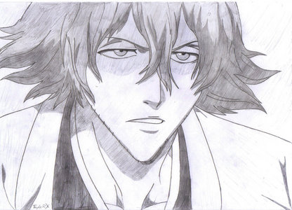 Kisuke Urahara (Bleach) well it was a quick sketch.........i hope u like it......he he eh eh eh