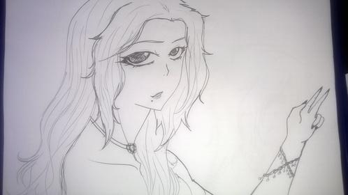 Rangiku Matsumoto !!! ((sorry for the bad quality picture, xP)) You like?