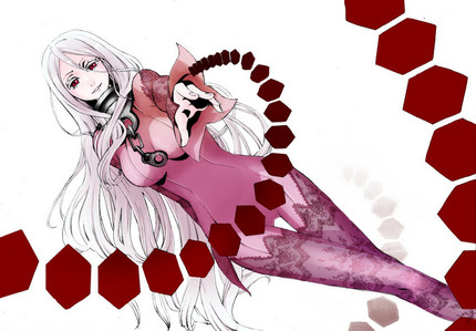 Shiro (Deadman Wonderland) has a dual-sided personality : the first one is kind and very innocent while the other personality is bloodthirsty and merciless.
