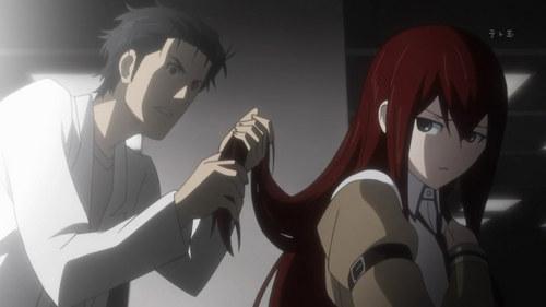 I've always loved Makise Kurisu's hair, it's so beautiful.