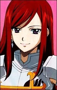 Erza. I amor her hair