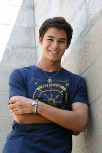 Booboo Stewart.How can he not be cute with a name like that,right?<3