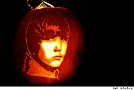 Bieber pumpkin<3