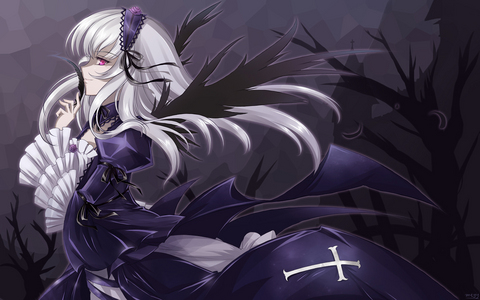 Suigintou~ I was so happy she came back! She's cool!