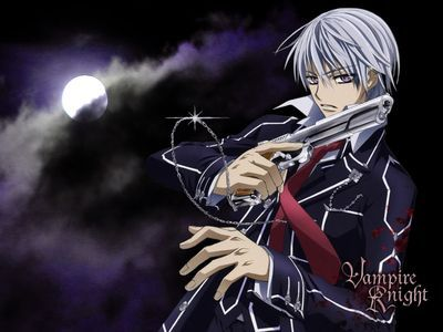 I got this person called Zero from an anime called Vampire Knight, I haven't watched it before though.