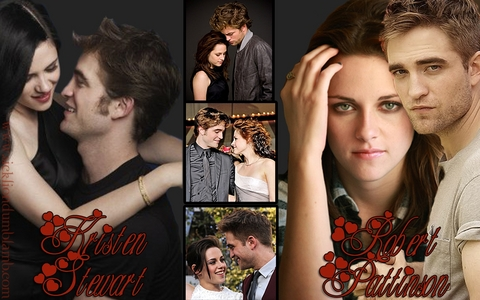 the 2 most beautiful people in my world,Robert and Kristen<3